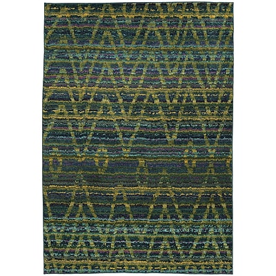 Bungalow Rose Marquis Green/Blue Area Rug; 9'9'' x 12'2''