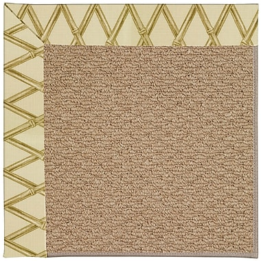 Capel Zoe Machine Tufted Bamboo Indoor/Outdoor Area Rug; Rectangle 3' x 5'