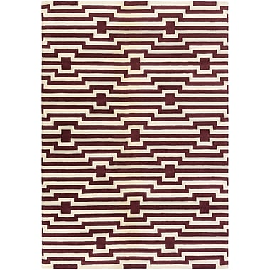 Artistic Weavers Transit Sawyer Hand-Tufted Red Area Rug; Rectangle 6' x 9'