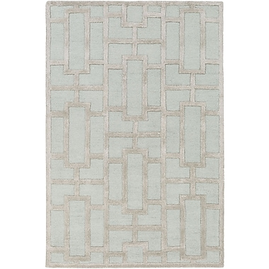 Artistic Weavers Arise Addison Hand-Tufted Light Blue Area Rug; Rectangle 8' x 11'