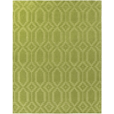 Artistic Weavers Metro Scout Hand-Loomed Green Area Rug; Rectangle 4' x 6'