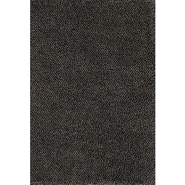 Red Barrel Studio Mazon Tweed Blue/Brown Area Rug; Runner 2'3'' x 7'9''