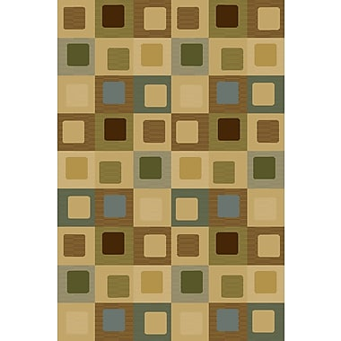 Wildon Home Bronny Beige Area Rug; Rectangle 3'3'' x 5'3''