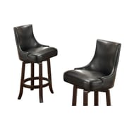 BestMasterFurniture 30'' Swivel Bar Stool (Set of 2)