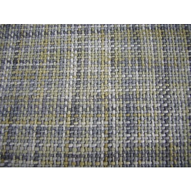 Modern Rugs Ripple Yellow/Gray Area Rug; Rectangle 6' x 8'