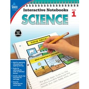 Carson-Dellosa Interactive Notebooks Science Grade 1 Resource Book (104905)