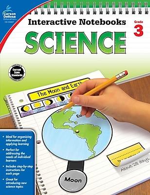 Carson-Dellosa Interactive Notebooks Science Grade 3 Resource Book (104907)