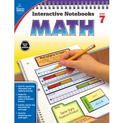 Carson-Dellosa Interactive Notebooks Math Grade 7 Resource Book (104911)