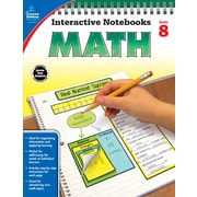 Carson-Dellosa Interactive Notebooks Math Grade 8 Resource Book (104912)