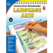 Carson-Dellosa Interactive Notebooks Language Arts Grade 6 Resource Book (104913)