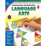 Carson-Dellosa Interactive Notebooks Language Arts Grade 8 Resource Book (104915)