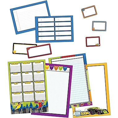 Carson-Dellosa Super Power Classroom Organizers Bulletin Board Set (110312)