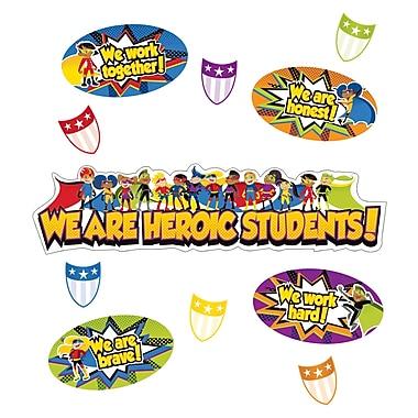 Carson-Dellosa Super Power Heroic Students Mini Bulletin Board Set (110314)