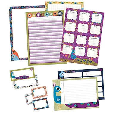 Carson-Dellosa You-Nique Classroom Organizers Bulletin Board Set (110320)