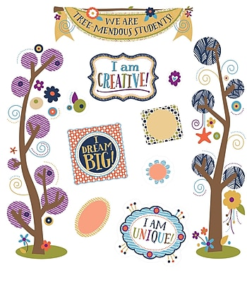 Carson-Dellosa You-Nique Tree-Mendous Students Mini Bulletin Board Set (110325)