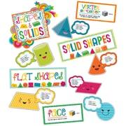 Carson-Dellosa School Pop Shapes and Solids Grades K-2 Bulletin Board Set (110327)