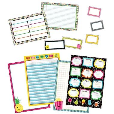 Carson-Dellosa School Pop Classroom Organizers Bulletin Board Set (110328)