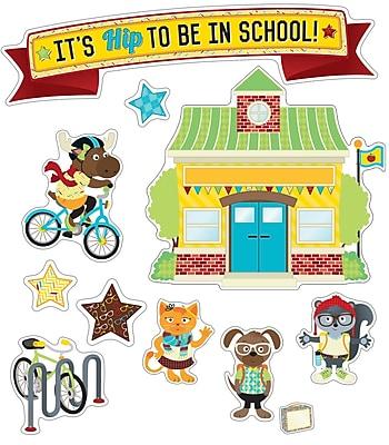 Carson-Dellosa Hipster It's Hip to Be in School Bulletin Board Set (110334)