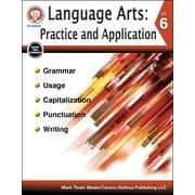 Carson-Dellosa Language Arts: Practice and Application Grade 6 Resource Book (404243)