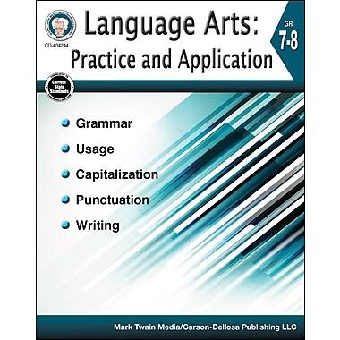 Carson-Dellosa Language Arts: Practice and Application Resource Book