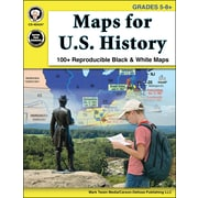 Mark Twain Maps for U.S. History Grades 5-8+ Resource Book (404247)