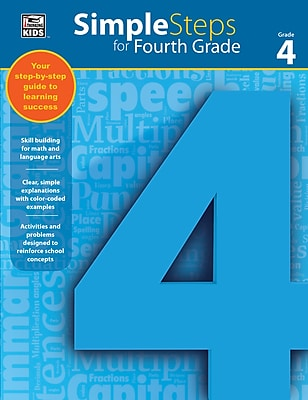 Thinking Kids Simple Steps for Fourth Grade Workbook (704917)