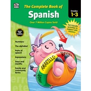 Carson-Dellosa Thinking Kids The Complete Book of Spanish Grade 1-3 Workbook (704929)