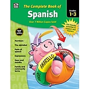 Thinking Kids The Complete Book of Spanish Grades 13 Workbook (704929)