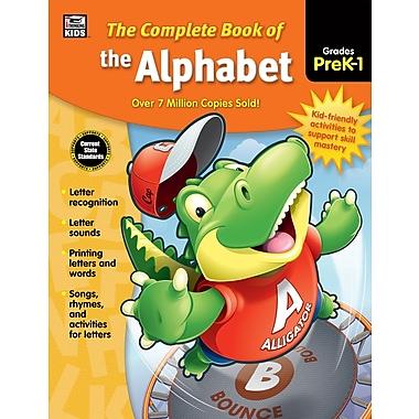 Carson-Dellosa Thinking Kids The Complete Book of Alphabet Pre-K-Grade 1 Workbook (704932)