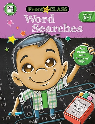 Thinking Kids Front of the Class Word Searches Grades K-1 Activity Book (704994)
