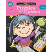 Thinking Kids Front of the Class Puzzles and Games Grades 1-2 Activity Book (704995)