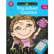 Thinking Kids Front of the Class Number Games Grades 1-2 Activity Book (704997)