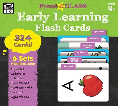 Thinking Kids Front of the Class Early Learning Ages 4+ Flash Cards (734062)
