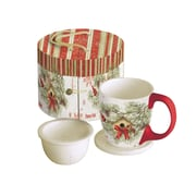 Lang (5054018) 11oz. Cardinal In Pines Infusion Mug
