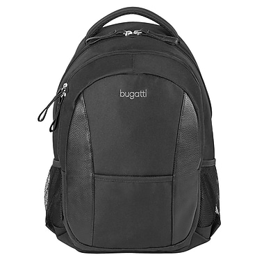 Bugatti Backpack, Black, (BKP4920150015-B)