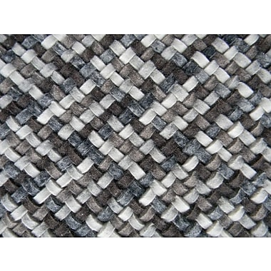 Modern Rugs Scales Multi Gray Area Rug; Rectangle 6' x 8'