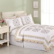 Laurel and Mayfair Hollis Quilt; Twin