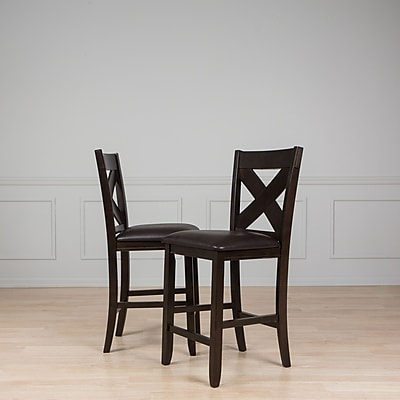 AW Furniture 25'' Bar Stool (Set of 2)