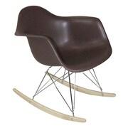 Mod Made Paris Tower Arm Chair; Chocolate