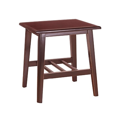 Porthos Home Elyse End Table; Natural