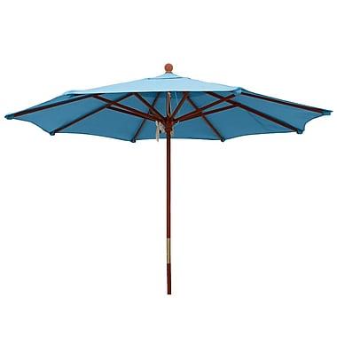 Comfort Classics 9' Market Umbrella; Sky Blue