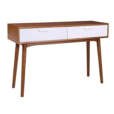 Porthos Home Carla Console Table; White