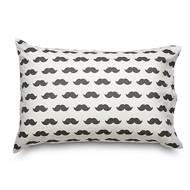 Where the Polka Dots Roam Mustache Ultra Mircofiber Pillowcase
