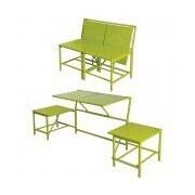 EsschertDesign myBalconia Convertible Bench; Green