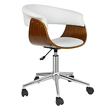 Porthos Home Liam Desk Chair; White