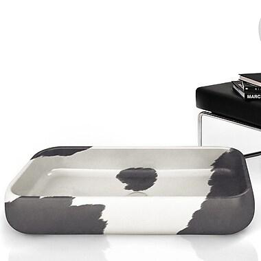 MaestroBath Moda Giungla Rectangular Vessel Bathroom Sink