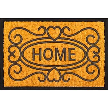 Envelor Home Welcome Home Coir (Coco) Rubber Doormat