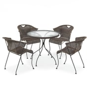 SunTime Outdoor Living Wadebridge 5 Piece Dining Set
