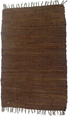 Artim Home Textile Country Brown Area Rug; 2'6'' x 4'2''