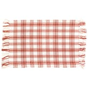 Traders and Company Kitchen Red/White Area Rug